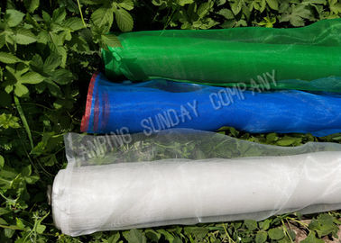 China 0.9m To 5m Width Insect Mesh Net Blue Color Made Of HDPE Material Easy Cleaning supplier