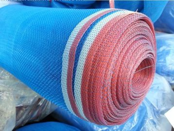16 x16 Plain Weave Blue Plastic Insect Mesh Temperature And Ventilation Control