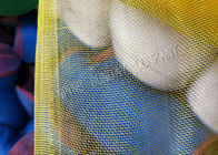 3.6m Width And 16x16 Eyes Nylon Mesh Net With Red And White Edge Blue