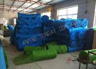 Blue Plastic Anti Insect Nylon Mesh Net Monofilaments And UV 3.6m Width For Shade Houses